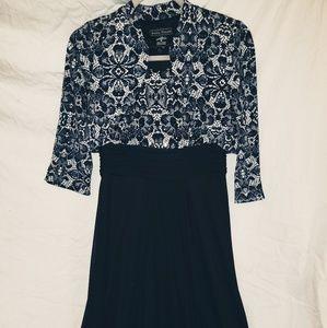 Jessica Howard Navy Blue Dress w/ original jacket